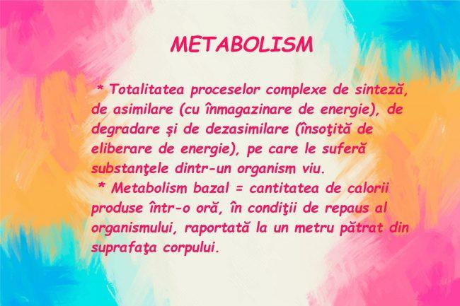 Metabolismul pacientului cu Scleroza Multipla